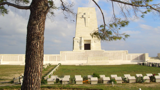 Lone Pine on Anzac Day Tour at Gallipoli 2015
