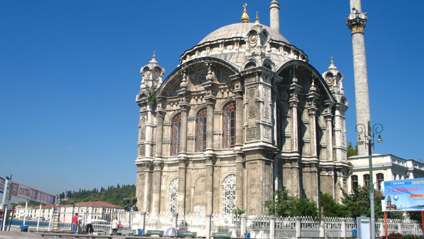 Ortakoy Mosque, Istanbul - view from Bosphoros tour