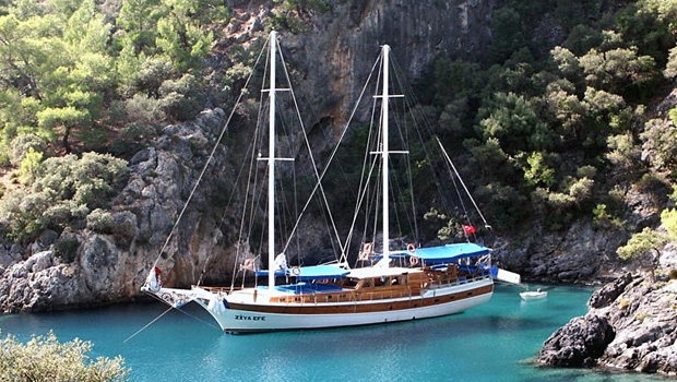 Gulet cruise & tours in Turkey