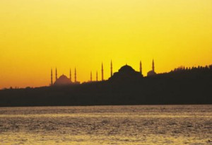 Istanbul skyline, don't miss on your tour around Turkey
