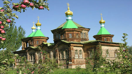 Mosque in Kyrgystan