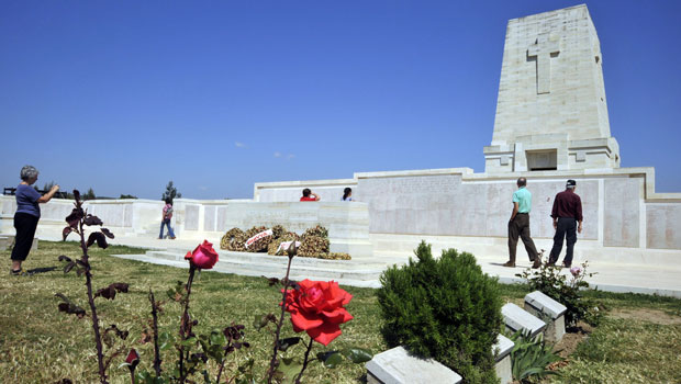 Lone Pine, Australian Memorial at Gallipoli