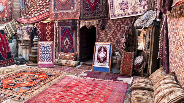 You will see Turkish carpet shops everywhere on your Turkey tour