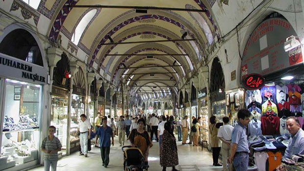 Grand Bazaar with more than 4000 shops