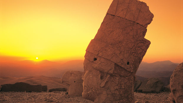 Sunset at Mt Nemrut