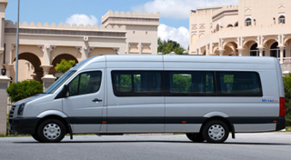 Volkswagen Crafter private tour