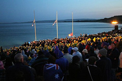The Dawn Service at Anzac Cove - Kusadasi to Gallipoli Anzac Day