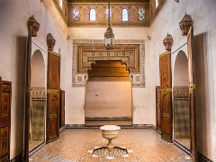 Bahia Palace - Marrakech - Semi Independent Tour