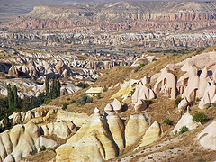 Moonscape Tufa - Cappadocia - Semi Independent Tour