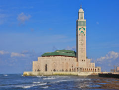 the Mosque of Hassan II - Casablanca - Semi Independent Tour