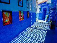 the Ancient Blue City - Chefchaouen - Semi Independent Tour