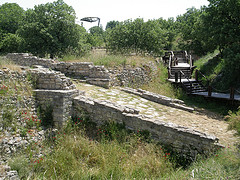 Entrance to the ancient city - Troy -