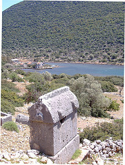 Lycian tomb - Kekova - Semi Independent Tour