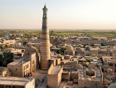 Islam Khodja Minaret - Khiva - Private Luxury Tour