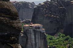 Rock community of 24 monasteries - Meteora -
