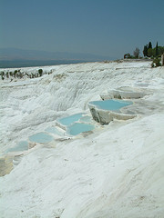 Limestone travertines - Pamukkale - Semi Independent Tour