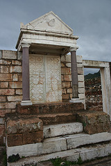 Synagogue Torah Shrine - Sardis - Escorted Tour