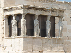 Erechtheion at the Acropolis - Athens -