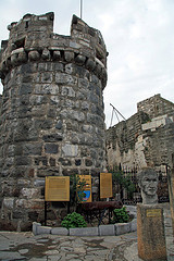 Built by the Knights Hospitaller starting in 1402 as the Castle of St. Peter - Bodrum -