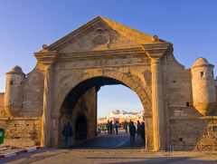 the Entrance Gate of the Coastal City  - Essaouira - Semi Independent Tour