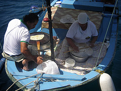 Turkish pancakes delivered to your gulet - Gulet - Blue Cruise