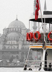 Istanbul view from Ferry - Istanbul -