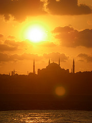Istanbul skyline at sunset - Istanbul - Escorted Tour