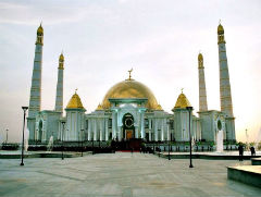 The Kipchak Mosque - Ashgabat - Private Luxury Tour