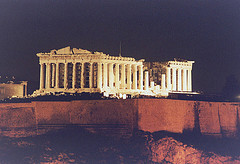 Parthenon at the Acropolis - Athens -