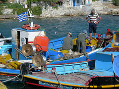 Local Fisherman - Samos -