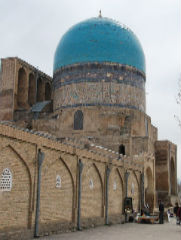 The Kok-Gumbaz Mosque  - Shakhrisabz - Private Luxury Tour