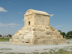 the Tomb of Cyrus the Great - Pasargadae - Private Luxury Tour