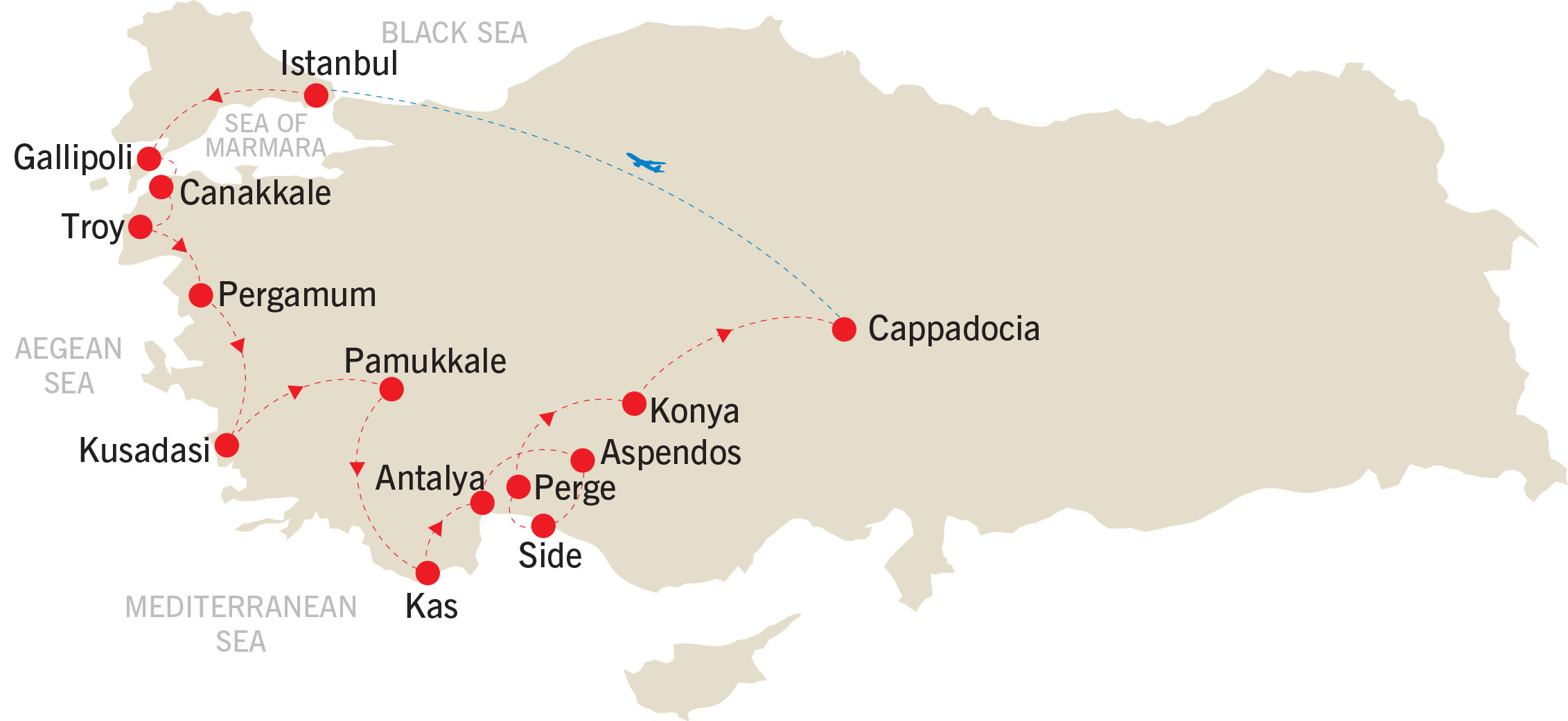 Silk Road Explorer map
