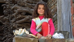 Anatolian girl in eastern Turkey