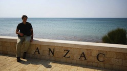 ANZAC Cove, part of the Gallipoli tour