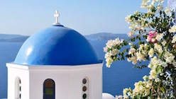 Santorini in Greece is one of the most memorable tour destinations
