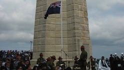 Chunuk bair New Zealand Memorial Anzac Day