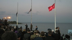Dawn Service, Gallipoli Turkey