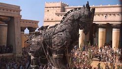 Wooden Horse from Troy Movie