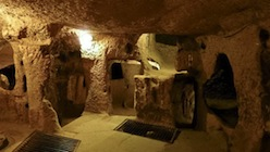 There are 36 underground cities in Cappadocia