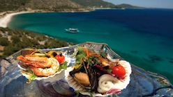 Turqouise Blue waters of Aegean is an all time favorite for relaxing