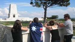 Anzac Day at Gallipoli, Lone Pine