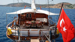 Atalante - private gulet for Charter in Turkey
