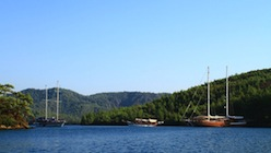 Cabin charter gulets in Turkey