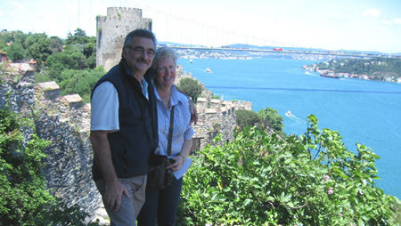 Glenda and Peter Pekish, Turkey tour leaders